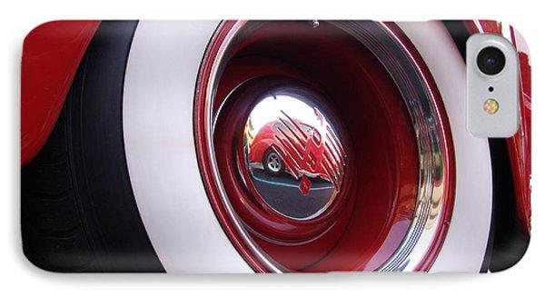 Wheel Reflection Phone Case by Carol Milisen