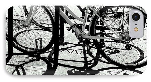Wheels IPhone Case by David Gilbert