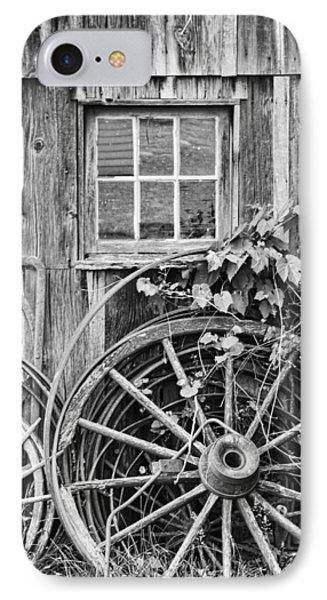 Wheels Wheels And More Wheels Phone Case by Crystal Nederman