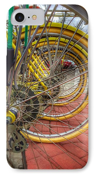 Wheels Within Wheels IPhone Case by Mark David Gerson