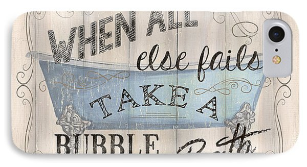 When All Else Fails IPhone Case by Debbie DeWitt