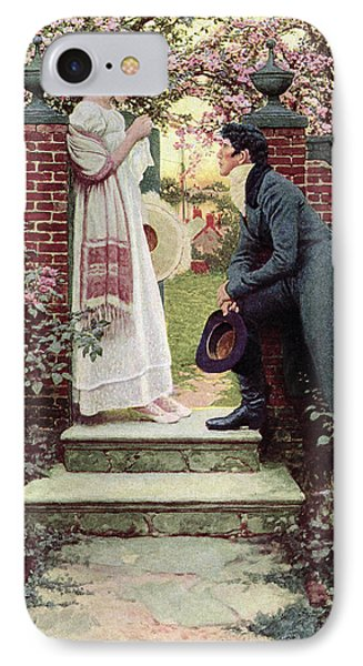 When All The World Seemed Young IPhone Case by Howard Pyle