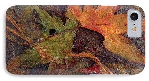 IPhone Case featuring the painting When Autumn Comes... by Helen Harris