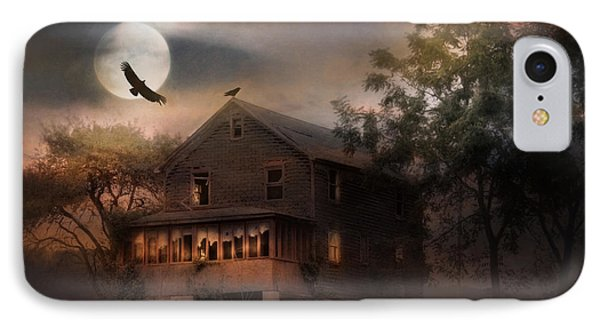 When Dead Leaves Fly IPhone Case by Lori Deiter