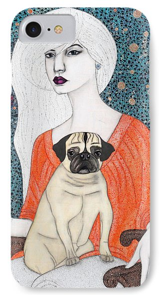 IPhone Case featuring the painting When I Call by Natalie Briney