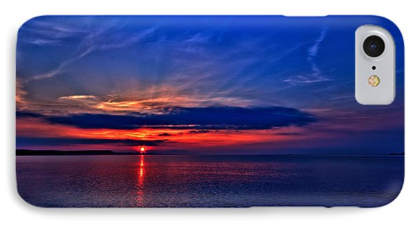 IPhone Case featuring the photograph When I'm Feeling Blue by Baggieoldboy
