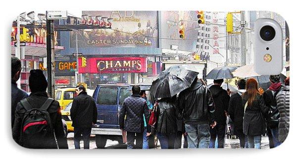 When It Rains 5 IPhone Case by Sarah Loft