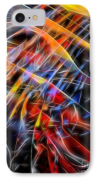 IPhone Case featuring the digital art When Prayer And Worship Embrace by Margie Chapman