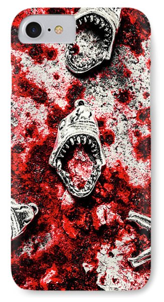 When Sharks Attack  IPhone Case by Jorgo Photography - Wall Art Gallery