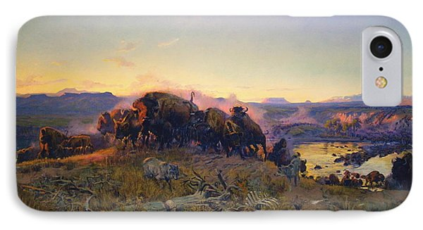 When The Land Belonged To God Phone Case by Charles Russell