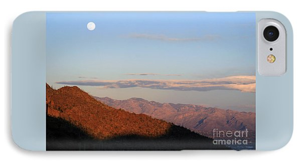 When The Mountains Turn Pink... IPhone Case by Paula Guttilla