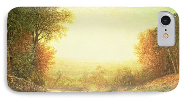 When The Sun In Splendor Fades Phone Case by John MacWhirter