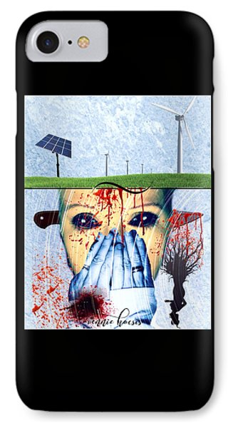 When They Take The Mind IPhone Case by Vennie Kocsis