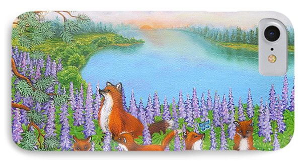 Where Bloom Lupines IPhone Case