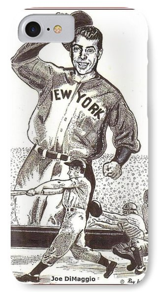 Where Have You Gone Joe Dimaggio  IPhone Case by Ray Tapajna