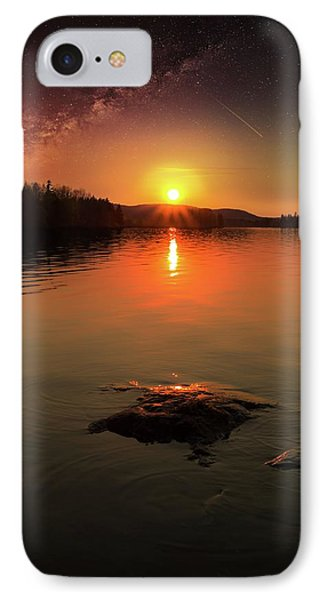 Where Heaven Touches The Earth IPhone Case by Rose-Marie Karlsen