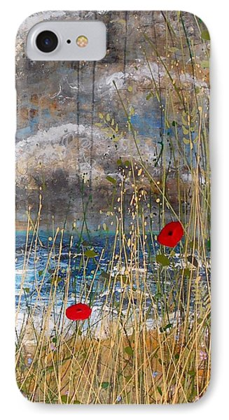 Where Poppies Blow Detail IPhone Case