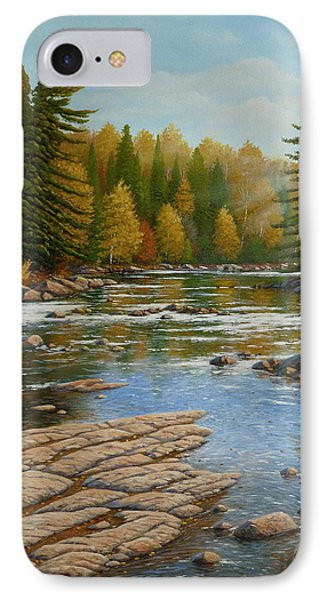 Where The River Flows IPhone Case