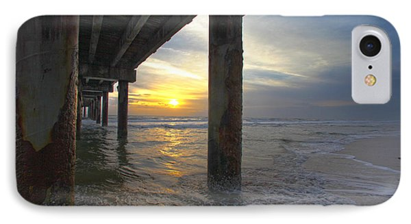 Where The Sand Meets The Surf IPhone Case
