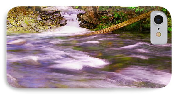 IPhone Case featuring the photograph Where The Stream Meets The River by Jeff Swan