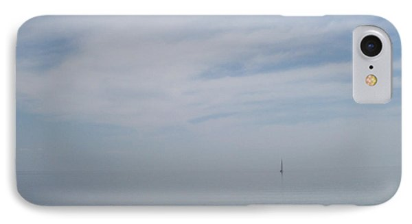 IPhone Case featuring the photograph Where Water Meets Sky by Mary Mikawoz