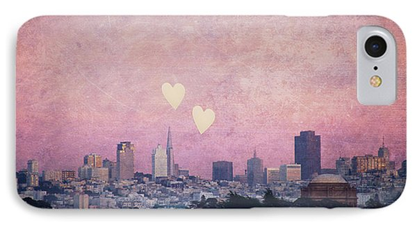 IPhone Case featuring the photograph Where We Left Our Hearts - Sf Photography by Melanie Alexandra Price