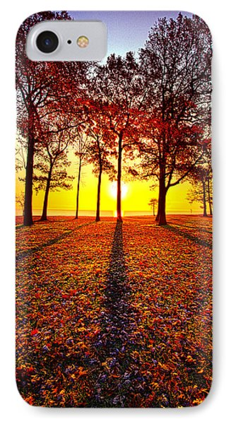 Where You Have Been Is Part Of Your Story IPhone Case by Phil Koch