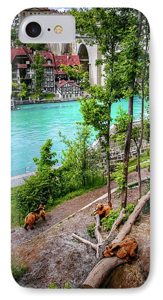 Where's Goldilocks? Bern Switzerland  IPhone Case