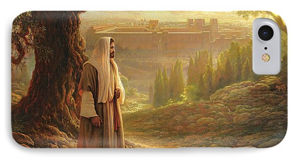 Wherever He Leads Me IPhone Case by Greg Olsen
