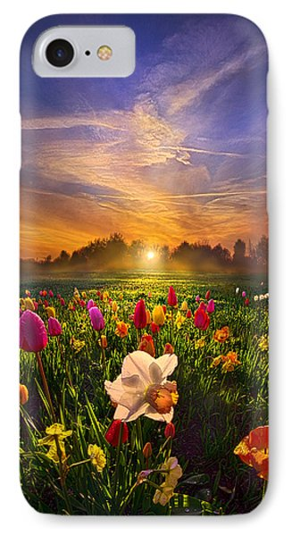 Wherever The Journey Takes Us IPhone Case by Phil Koch