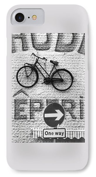 Which Way IPhone Case by Hazy Apple