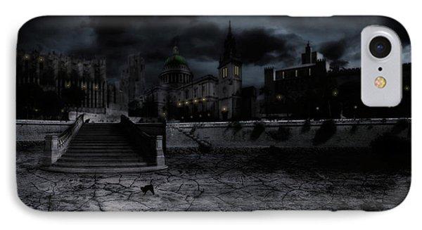 Whilst The City Sleeps Phone Case by John Edwards