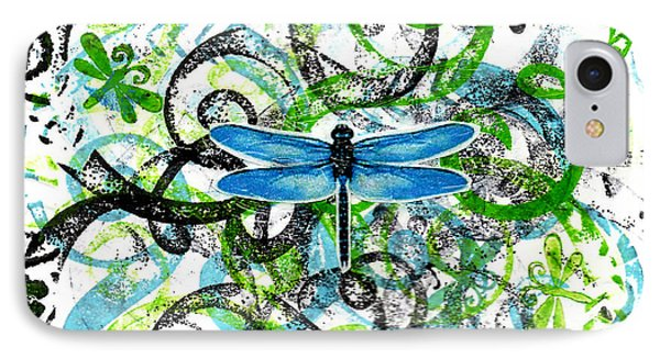 Whimsical Dragonflies IPhone Case