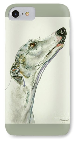 Whippet IPhone Case by Suzanne Leonard