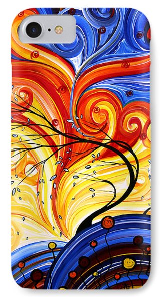 Whirlwind By Madart Phone Case by Megan Duncanson