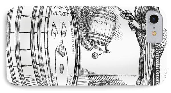 Whiskey Ring Cartoon, 1876 Phone Case by Granger