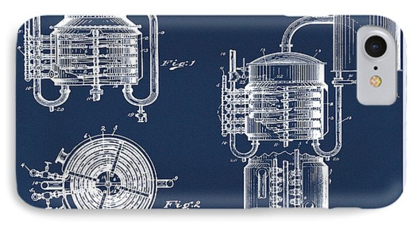 Whiskey Still 1906 In Blue  IPhone Case