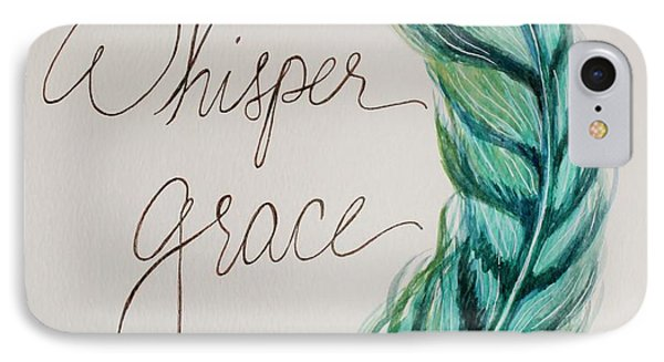 Whisper Grace IPhone Case by Elizabeth Robinette Tyndall