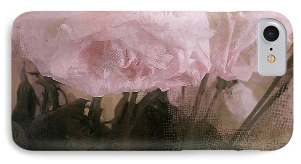 IPhone Case featuring the digital art Whisper Of Pink Peonies by Alexis Rotella