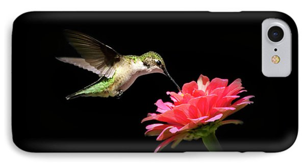 Whispering Hummingbird Phone Case by Christina Rollo