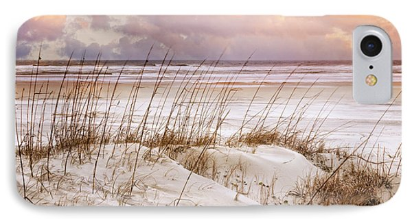 IPhone Case featuring the photograph Whispers In The Dunes by Debra and Dave Vanderlaan