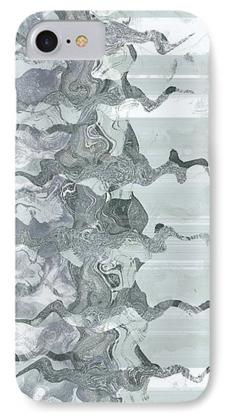 IPhone Case featuring the digital art Whispers In Fog by Wendy J St Christopher