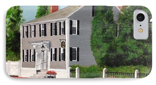 IPhone Case featuring the painting Whistler House by Cynthia Morgan
