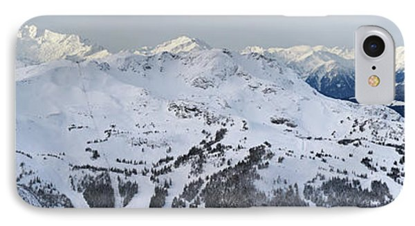 Whistler Mountain Panorama Phone Case by Pierre Leclerc Photography