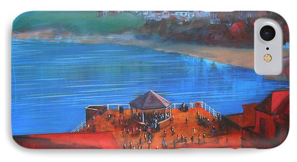 Whitby Bandstand And Smokehouses Phone Case by Neil McBride