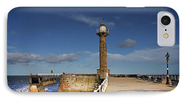 Whitby Lighthouse IPhone Case