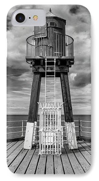 Whitby Pier Phone Case by Gillian Dernie