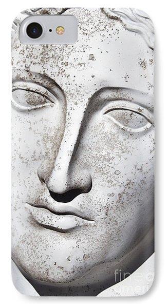 White 1 IPhone Case by Elena Nosyreva