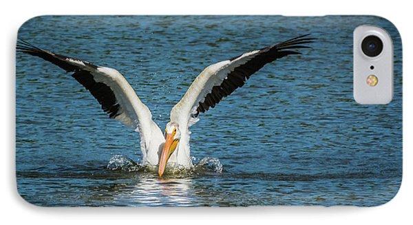 White American Pelican IPhone Case