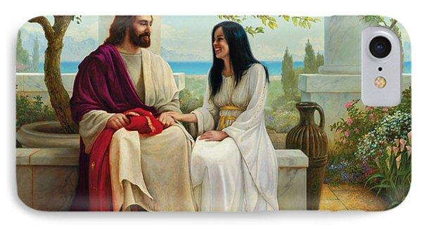 Jesus iPhone 7 Case - White As Snow by Greg Olsen
